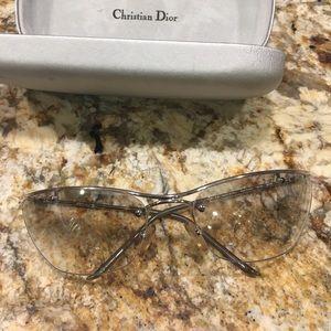Christian Dior frameless glasses
